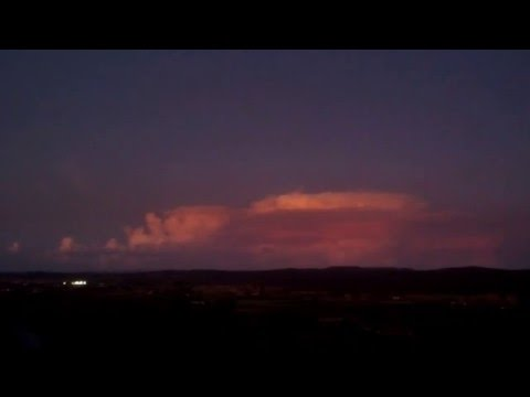 Teepee Point : Cloud Factory & A Little Lightning