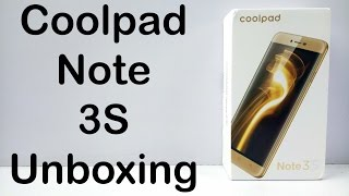Coolpad Note 3S Unboxing & Quick Hands on Review - Nothing Wired