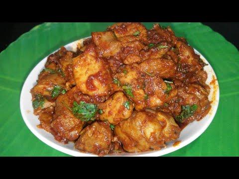 Simple Spicy Chicken | झटपट सुक चिकन | Non veg recipe In Marathi With Asha Maragaje