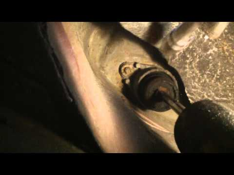 FORD FOCUS,FUSION, REAR SHOCK ABSORBER REMOVAL
