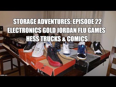 Storage Adventures 22 PART 1!!: Electronics Gold Jordan Flu Games Hess Trucks & Comics