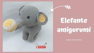 Elefante Amigurumi Decoração De Nichos - R$ 170,00 em Mercado Livre | 180x320