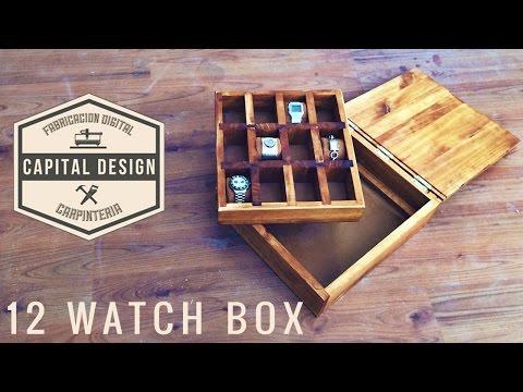 Wood watch box - Caja para relojes | DIY Woodworking |