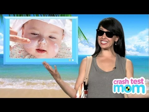 Baby Sun Tips - Choosing the Right Sunscreen for Your Baby