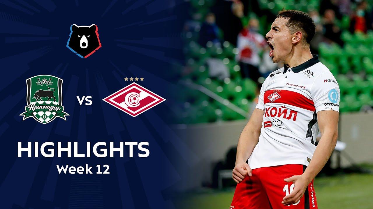 Highlights FC Krasnodar vs Spartak (1-3)   RPL 2020/21