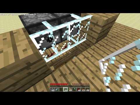 Minecraft fish tank, auto restocking—how‐to