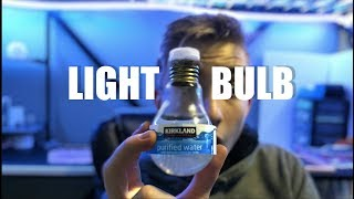 How To Make a Water Bottle Out Of a LightBulb | Learn How to Make a Water Bottle Out of a Lightbulb!