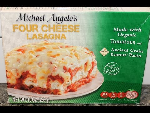 Michael Angelo's Organic: Four Cheese Lasagna Review