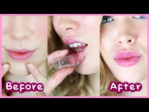 GET KYLIE JENNER LIPS! No Injections/ No Makeup Tricks
