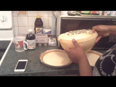 How to make cheesecake (With already made pie crust)