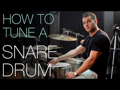 How to Tune a Snare Drum To Sound Great by Troy Wright