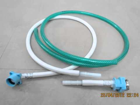 Washing machine inlet pipe extension