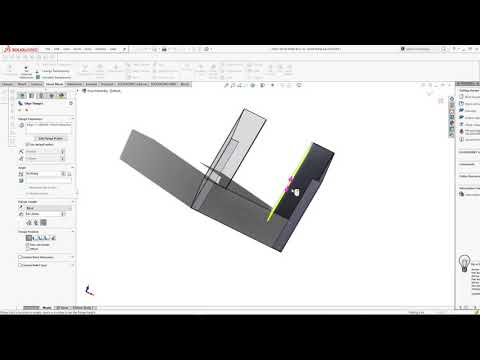 Sheet Metal Box Design Using Solidwork Sheet Metal Using Top Down Assembly
