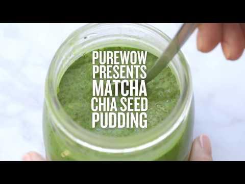 How to Make Matcha Chia Seed Pudding