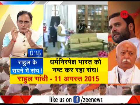 TTK: Why Congress is worried over Pranab Mukherjee accepting RSS invite to address conference?