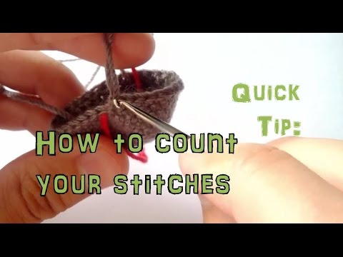 Crochet for beginners: Learn how to properly Count Your Stitches