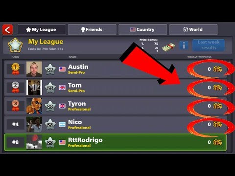 8 Ball Pool - OUR LEAGUE IS EASIER NOW!
