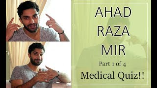 Medical quiz with Ahad Raza Mir aka Dr Asfandyar   Yakeen Ka Safar   1/4   Orange Wall TV