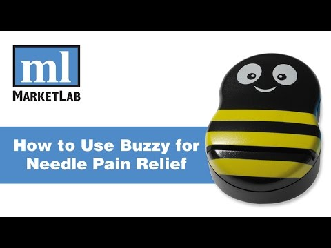 How to Use Buzzy for Needle Pain Relief