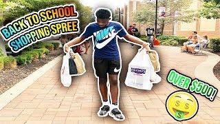 Back to School Shopping Spree🤘🏾🔥 (Nike, Polo Ralph Lauren, Tommy Hilfiger, Etc.)