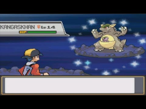 LIVE! Shiny Kangaskhan after 2,182 RE's in Rock Tunnel | SoulSilver (Repel Trick)