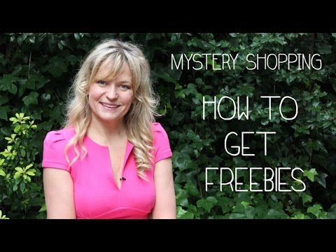 Ask Jasmine - How to get freebies -  MYSTERY SHOPPING