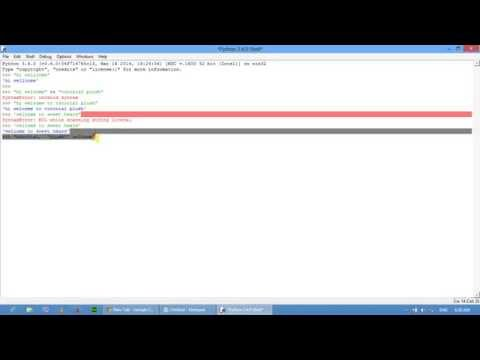String use in python Part 06