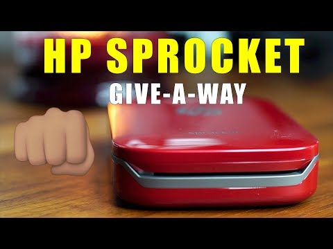HP Sprocket Give-a-way [ENDED]