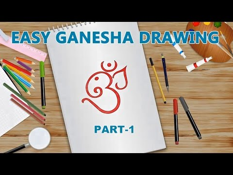 How To Draw Ganesha | Drawing Video for Kids | Episode 1