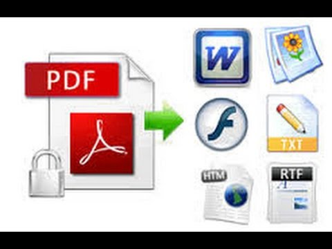 How to Convert PDF to any format(Word,PowerPoint,Excel,Jpg and more