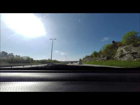 Oslo - Rygge - Oslo in a few minutes