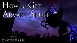 Skyrim DLC Dawnguard - How To Get Arvak's Skull In Soul Cairn