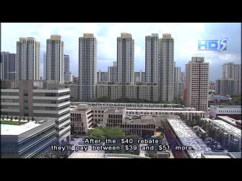 Increase in property tax for HDB 3-room flats and above - 27Nov2012