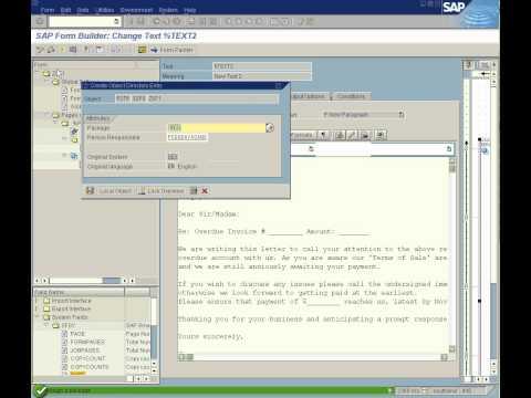 Smartform Basic Demo