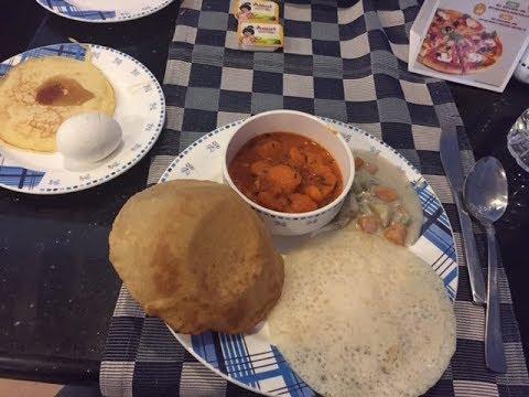 What we ate in Kerala: Breakfast buffet at Blue Waters Cherai beach