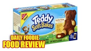 NEW Teddy Soft Bakes Review - Vanilla Filling Baked Snack