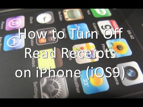 How to Turn Off Read Receipts on iPhone and iPad