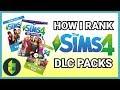 How I RANK All Sims 4 Packs