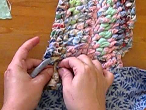 Amish Knot Rag Rug Tutorial  2 of 2