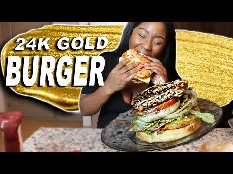 HOW TO MAKE A 24K GOLD BURGER!