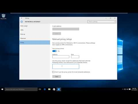 How To Set Up and Configure Proxy In Windows 10 [Tutorial]