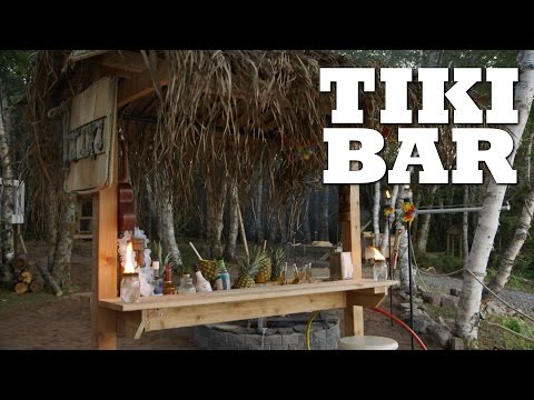 The Ultimate Beach Side Tiki-Bar