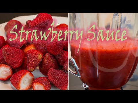 Strawberry Sauce (Great over cheesecake, Shortcake and MORE)