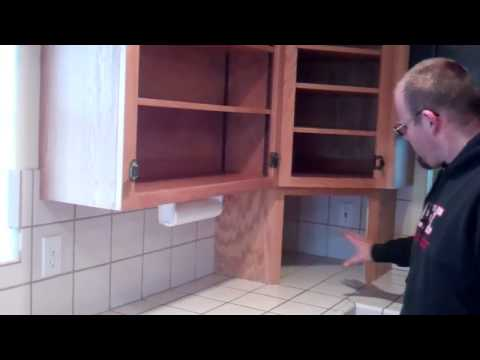 Re-Finishing Old Oak Cabinets