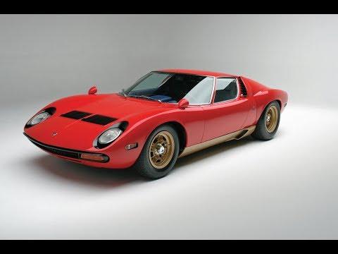$2,310,000! 1971 Lamborghini Miura SV