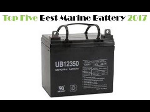 Top Five Best Marine Battery
