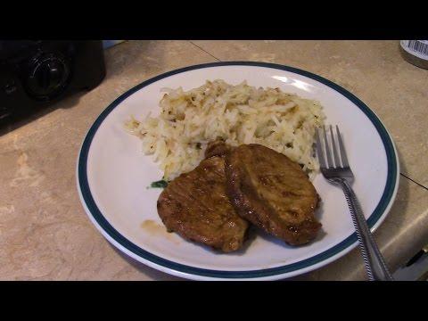 Pressure Cooker Slow Cooker Pork Chops