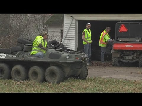 Stolen vehicles found buried at Youngstown house