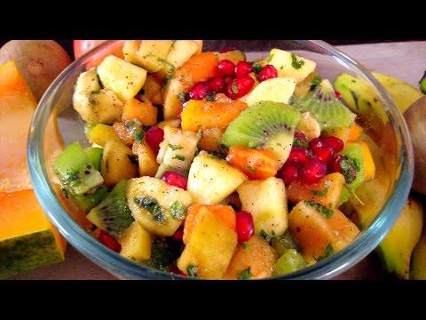 Recipe in Hindi - Mix Fruit Salad Recipe In Hindi - Salad Recipe in Hindi - मिक्स फ्रूट सलाद रेसिपी