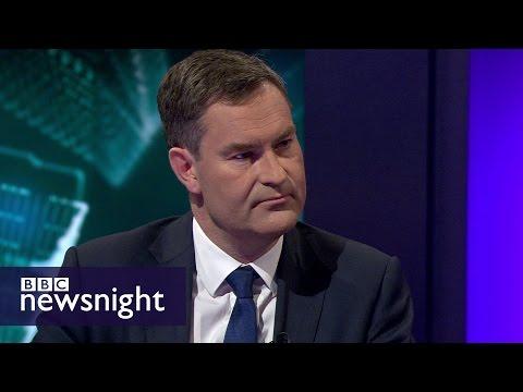 Budget 2017: No National Insurance U-turn, says David Gauke - BBC Newsnight